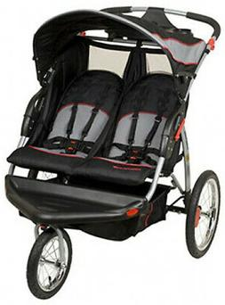 NEW Baby Trend Expedition Swivel Double Jogger Baby Jogging