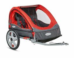 NEW INSTEP QUICK N EZ DOUBLE BIKE BICYCLE TRAILER STROLLER B