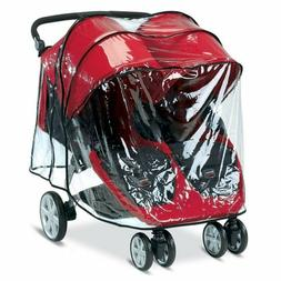 NEW Raincover for Britax B-Agile Double Stroller, Never used