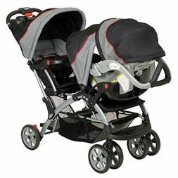 New Baby Trend Sit N Stand Millennium Carbon Travel System D