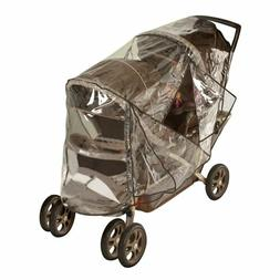 Nuby Deluxe tandem stroller weather shield / Stroller rain c