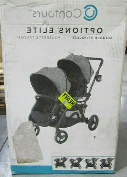 Contours Options Elite Tandem Double Toddler & Baby Stroller