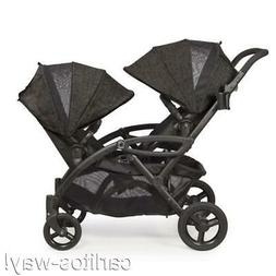 options elite tandem stroller double baby infant