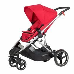 phil and teds voyager inline stroller red