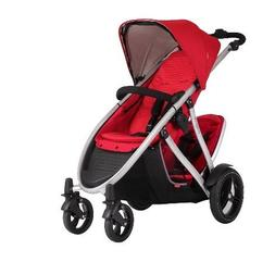 Phil & Teds Verve V3 Double Stroller in Cherry + Alpha Car S