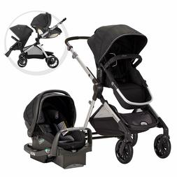 Evenflo Pivot Xpand Baby Stroller & SafeMax Infant Car Seat
