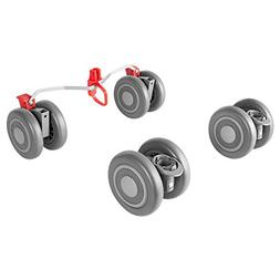 Maclaren Quest Front and Rear Wheels, Silver