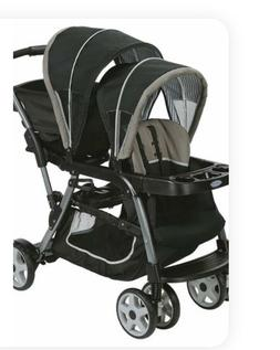 ready2grow click connect double baby stroller pipp