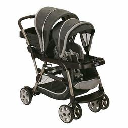 Graco Ready2Grow Click Connect LX Dual Baby Stroller, Glacie