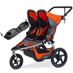 BOB - Revolution FLEX Duallie Double Stroller with Bag - Ora
