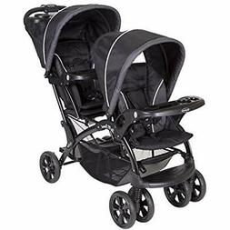 sale sit and stand double stroller onyx