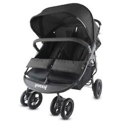 Scooter X2 Double Stroller, Black