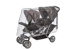 Sashas Premium Series Rain and Wind Cover for Graco DuoGlide