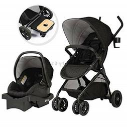 Evenflo Sibby Travel System, Stroller, Car Seat, Ride-Along