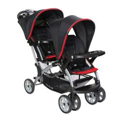 Baby Trend  Sit N' Stand® Double Stroller- Optic Red BRAND