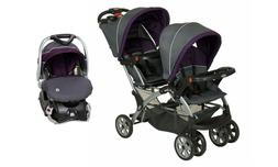 Baby Trend Sit n Stand Double Stroller Travel System with Ca