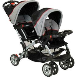 Baby Trend Sit N Stand Plus Double Stroller, Millennium - FA