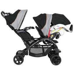 Baby Trend Sit N Stand Travel Toddler and Baby Double Stroll