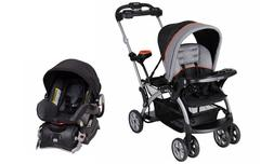 Baby Trend Sit 'N Stand Ultra Double Stroller with Car Seat,