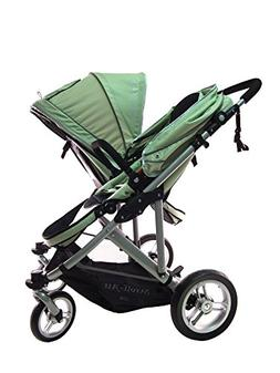 StrollAir SM54432G 2012 My Duo Twin Stroller - Green