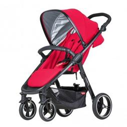 phil&teds Smart Buggy, Cherry