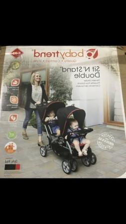 Baby Trend SS76B51A Sit N' Stand® Double Stroller- Optic Re