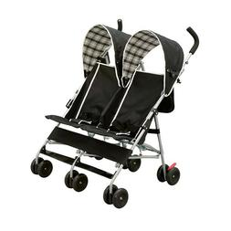 Stroller Double Twin Baby Jogger Delta Children DX Side Umbr