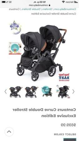 stroller Double contours with 3 accessories
