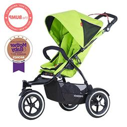 phil&teds Sport Stroller with Doubles Kit, Apple