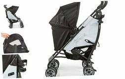 Summer 3Dflip Convenience Baby Stroller, Black/Gray - Lightw