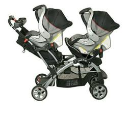 The Sit-N-Stand Double Stroller has all the great features o
