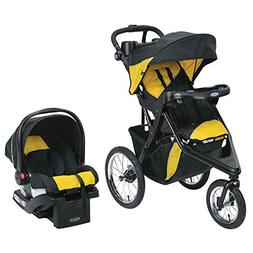 Graco Trax Jogger Click Connect Stroller Travel System, With