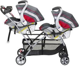 Twin Stroller Universal Frame Double Baby Brothers Trend Inf