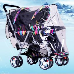 Universal Baby Stroller Infant Wind Shield Rain Cover Pram D