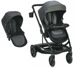 uno2duo single stroller