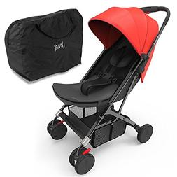 Upgraded 2018 Portable Lightweight Travel Stroller - 1 Hand