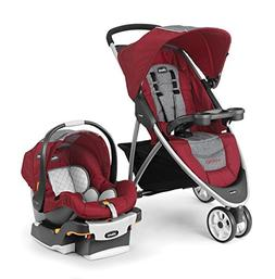 Chicco Viaro 3 Wheel Travel System Stroller w/ KeyFit 30 Car