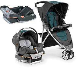 Chicco Viaro Stroller Travel System with Extra Ketyfit 30 Ba