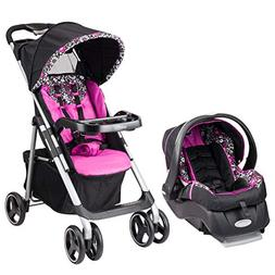 Evenflo Vive Travel System with Embrace Infant Car Seat, Dap