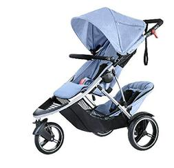 phil&teds Voyager Buggy- Blue Marl