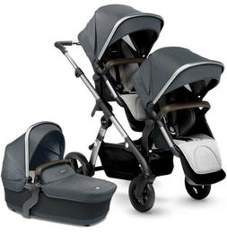 Silver Cross Wave Twin Baby Double Pram System Stroller with