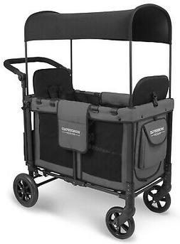 Wonderfold W2 Multi Function 2 Passenger Folding Double Stro