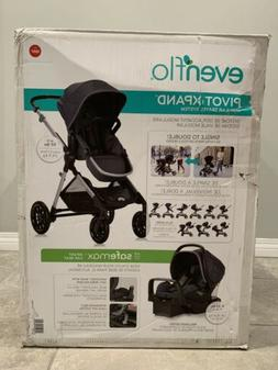Evenflo Pivot Xpand Travel System includes SafeMax Infant Ca